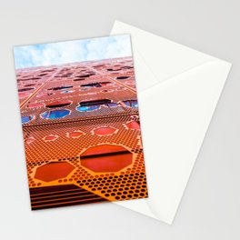 Wall With Holes Stationery Cards