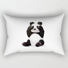 Cute big panda bear Rectangular Pillow