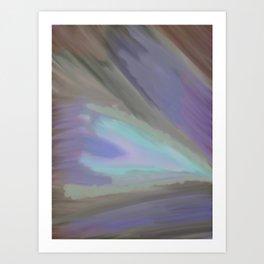 Clouded Eye Art Print