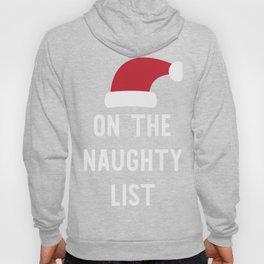 On The Naughty List Hoody