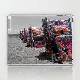 Cadillac Ranch Laptop & iPad Skin