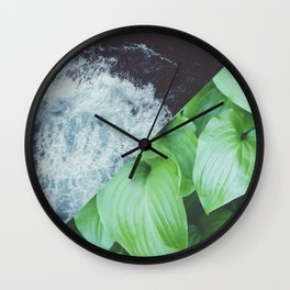Tropic Square Wall Clock
