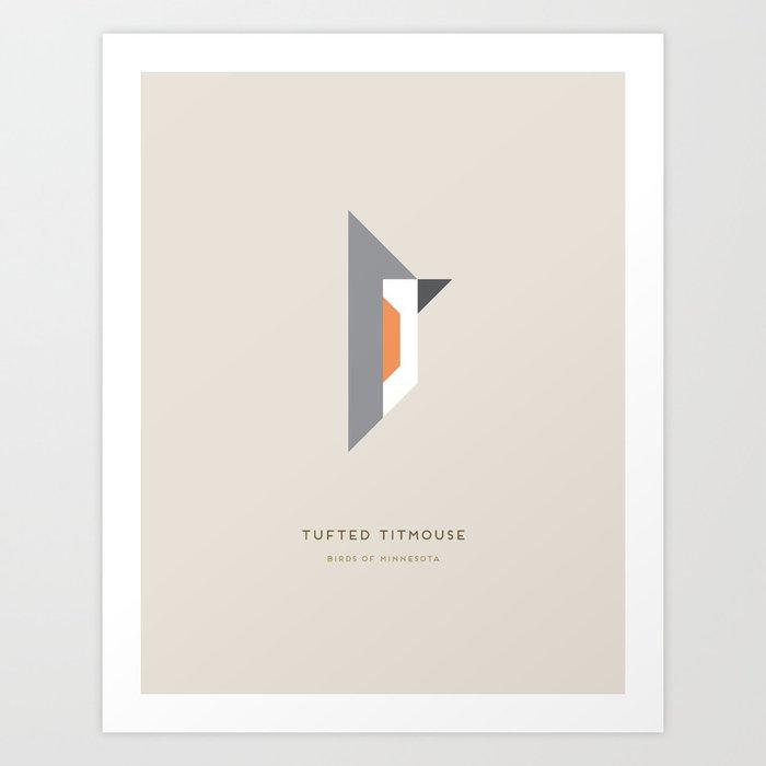 Tufted Titmouse Art Print