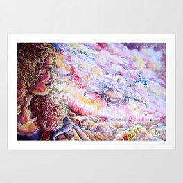 Incoming Art Print
