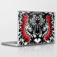 tiger Laptop & iPad Skins featuring Tiger by Ali GULEC