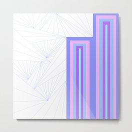 Pattern Number One Metal Print
