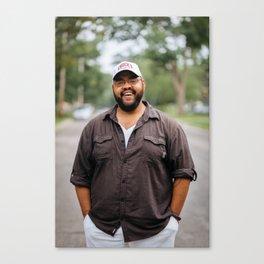 Artists In Jackson: Doug Jones Canvas Print