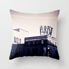 Arts on Broad Throw Pillow