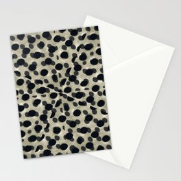 Metallic Camouflage Stationery Cards
