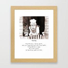Furious Limerick Framed Art Print