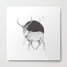 Winter is all around Metal Print