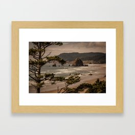 Pacific Summer Framed Art Print