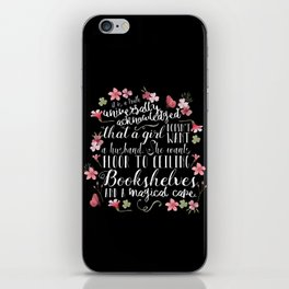 Truth Universally Acknowledged iPhone Skin