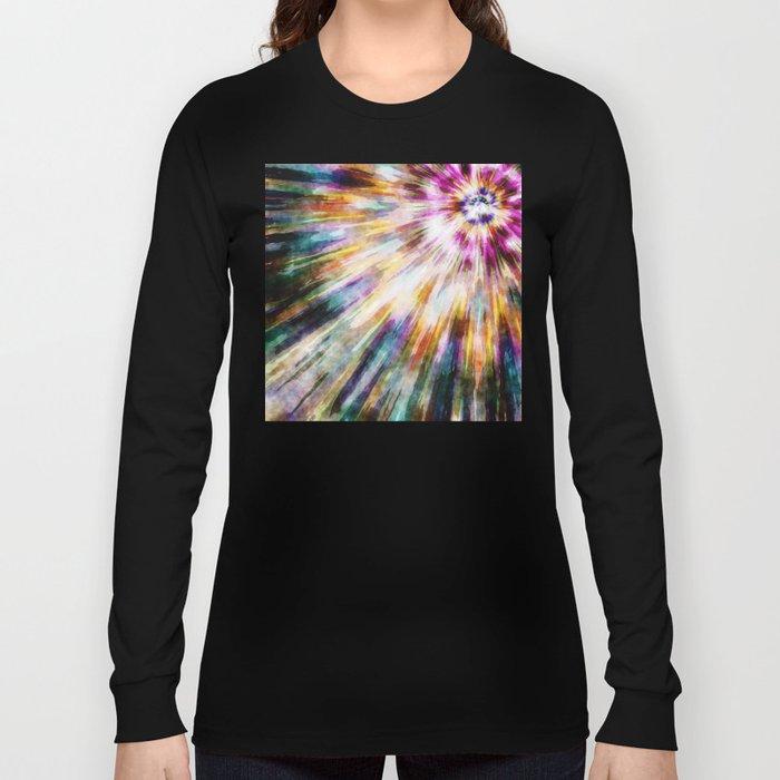Vintage Tie Dye Long Sleeve T-shirt