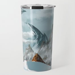 The ascent of the summit Travel Mug