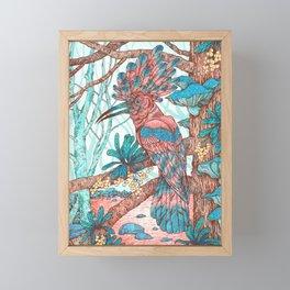 River Hoopoe Framed Mini Art Print