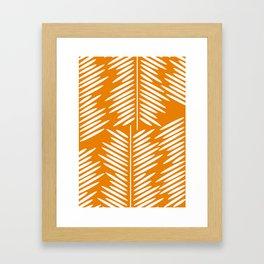 Leaves- minimal Framed Art Print