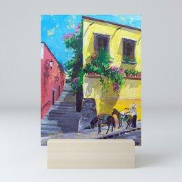 Life in Mexico, San Miguel de Allende  Mini Art Print