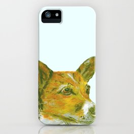 Jack Russell printed from an original painting by Jiri Bures iPhone Case