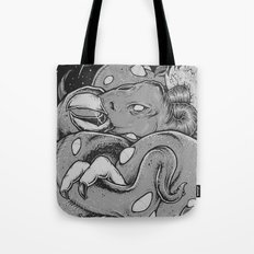 Tents Attack!  Tote Bag