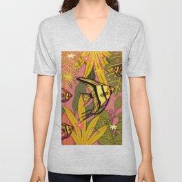 Angelfish #3 Unisex V-Neck