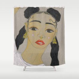 T W I G S Shower Curtain