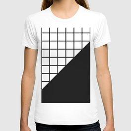 EIGHTIES PATTERN (BLACK-WHITE) T-shirt