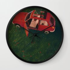 I'll Be Back In 20 Years Wall Clock