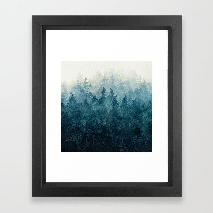 The Heart Of My Heart // So Far From Home Edit Framed Art Print