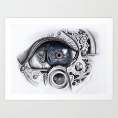 Mechanical Eye Art Print