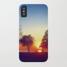 Happy in CLE iPhone Case