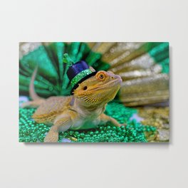 Kiss Me, I'm Irish! Metal Print