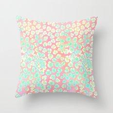 Leopard Pastel Throw Pillow