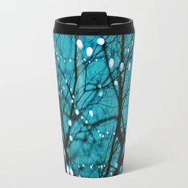 twinkly lights in a tree. Wonder Travel Mug