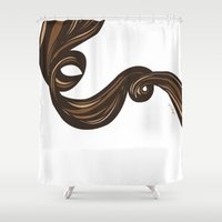 rapunzel Shower Curtains featuring Rapunzel by giulya