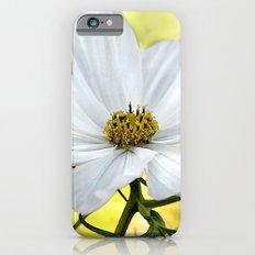 Floral White Cosmos iPhone 6s Slim Case