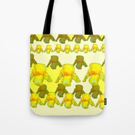 YELLOW IRIS FIELDS Tote Bag