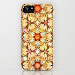 kaleidoscope - releitura de um jardim iPhone Case