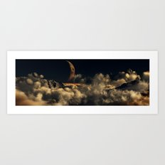 Warm Night Art Print