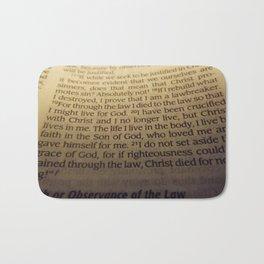 Through the Law. Bath Mat
