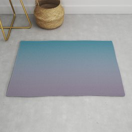 Mosaic Blue to Grape Compote Gradient Rug