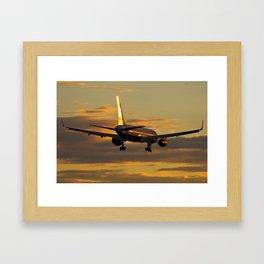 Icelandair Boeing 757-200/ER Framed Art Print