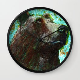 Strength from Within Wall Clock