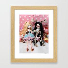 Unlikely Friendship Framed Art Print