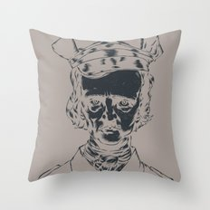 It's the POElice! Throw Pillow