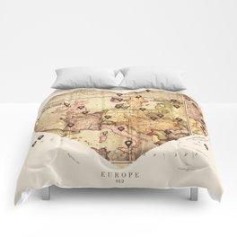 Love to Travel Comforters