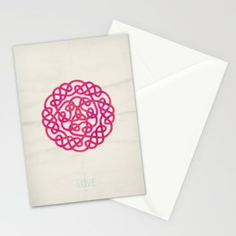 Love poster Stationery Cards