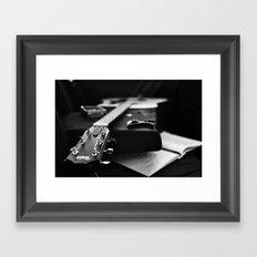 The V Sessions Framed Art Print