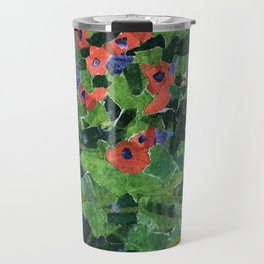 Poppy Field Travel Mug