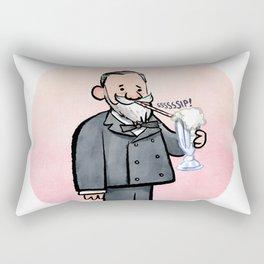Louis Pasteur & Milkshake Rectangular Pillow